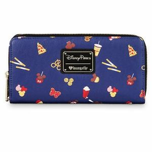 NWT Disney Loungefly Snacks (Food Icons) Wallet